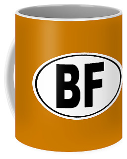 Coffee Mug featuring the photograph Oval Bf Beaver Falls Pennsylvania Home Pride by Keith Webber Jr