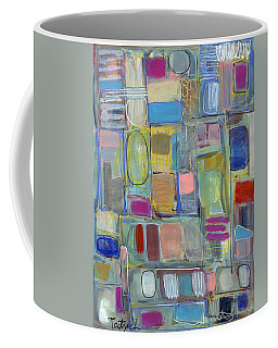 Oval Block Coffee Mug