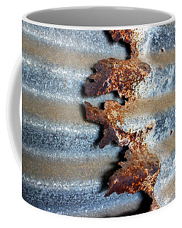 Coffee Mug featuring the photograph Over And Above by Stephen Mitchell