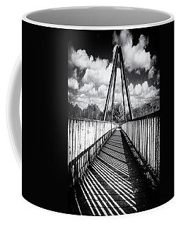 Coffee Mug featuring the photograph Over And Under by Nick Bywater