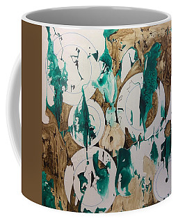 Over And Under Coffee Mug by Pat Purdy