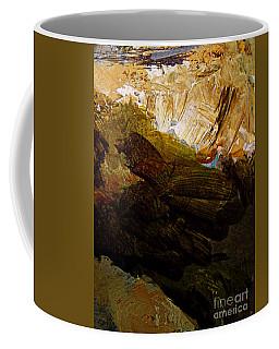 Over The Edge Coffee Mug by Nancy Kane Chapman