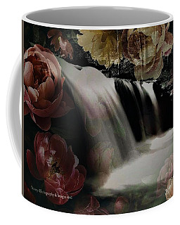 Over The Falls Coffee Mug