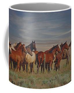 Over The Fenceline Coffee Mug