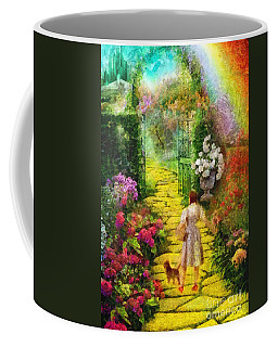 Over The Rainbow Coffee Mug by Mo T