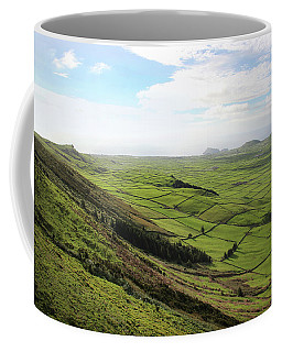 Coffee Mug featuring the photograph Over The Rim On Terceira Island, The Azores by Kelly Hazel