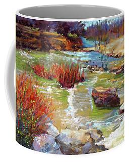 Over The Rocks Coffee Mug by Rae Andrews