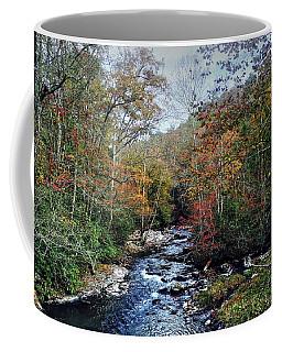 Over The Rocks Coffee Mug