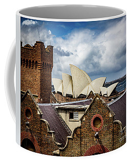 Over The Roof Tops Coffee Mug by Perry Webster