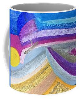 Over The Waves Coffee Mug