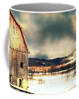 Coffee Mug featuring the photograph Over Yonder by Julie Hamilton