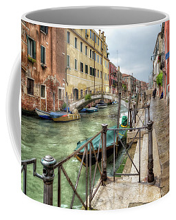 Coffee Mug featuring the photograph Overcast Day In Venice by John Hoey