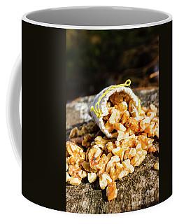 Overflowing Sack Of Fresh Walnuts Coffee Mug