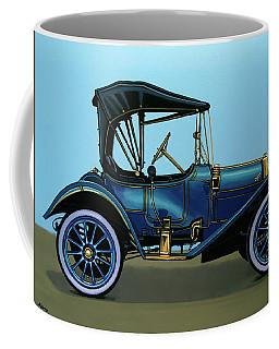 Overland 1911 Painting Coffee Mug by Paul Meijering