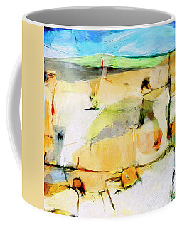Coffee Mug featuring the painting Overlook by Dominic Piperata
