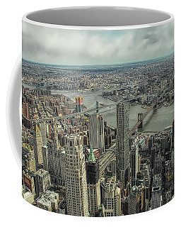 Overlooking Manhattan's East River  Coffee Mug