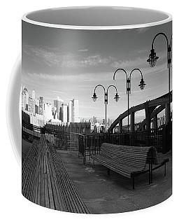 Overlooking N Y C Coffee Mug