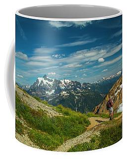 Overlooking Shuksan Coffee Mug