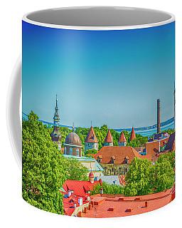 Overlooking Tallinn Coffee Mug