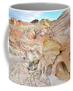Overlooking Wash 5 In Valley Of Fire Coffee Mug