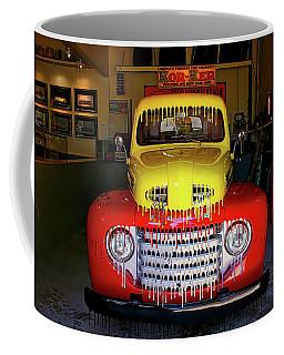 Overpainted 1950 Ford Pickup Coffee Mug