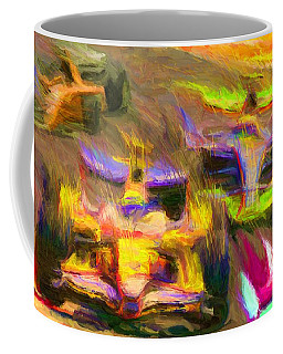 Overtaking Coffee Mug