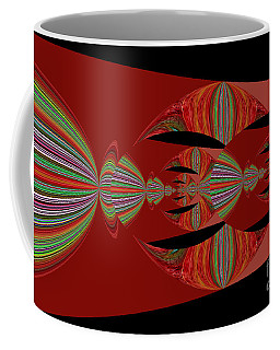 Red Abstract Ovs 26 Coffee Mug