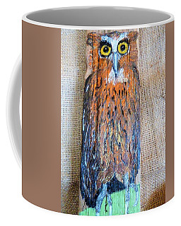 Owl Coffee Mug by Ann Michelle Swadener