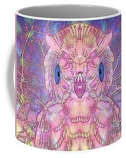 Coffee Mug featuring the digital art Owl by Barbara Tristan