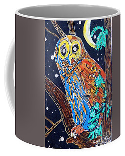 Owl Light Coffee Mug