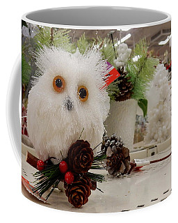 Owl On The Shelf Coffee Mug by Betty-Anne McDonald