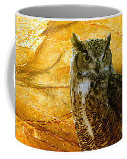 Owl Coffee Mug by Teresa Zieba