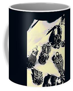 Owls From Blue Yonder Coffee Mug