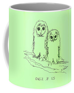 Owlz R Us Coffee Mug