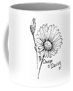 Oxeye Daisy Coffee Mug