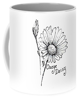 Oxeye Daisy Coffee Mug