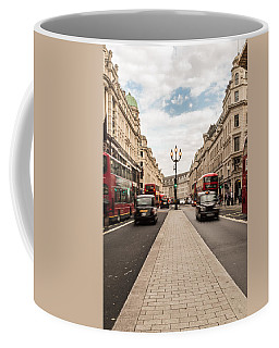 Oxford Street In London Coffee Mug