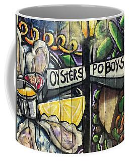 Oyster Poboys Coffee Mug