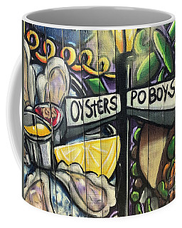 Oyster Poboys Coffee Mug
