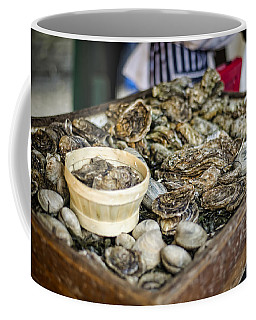 Oysters At The Market Coffee Mug