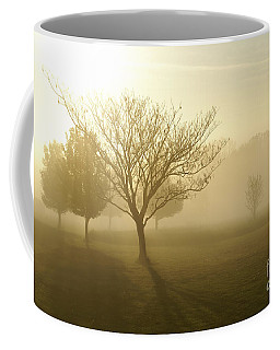 Ozarks Misty Golden Morning Sunrise Coffee Mug