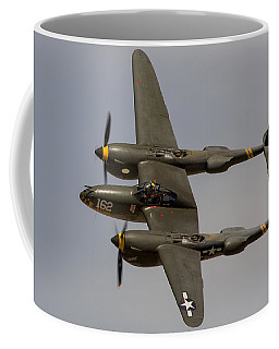 P-38 Skidoo Coffee Mug