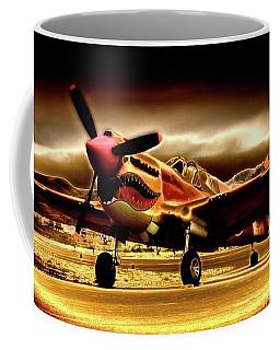P-40 Warhawk Blazrd Coffee Mug