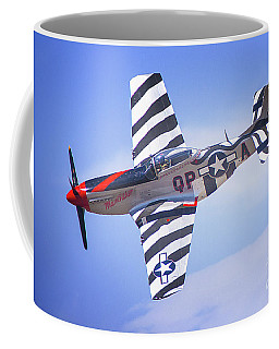 P-51 Mustang Fighter Coffee Mug