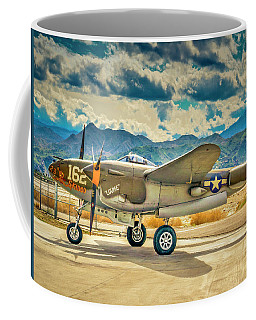 P38 Fly In Coffee Mug