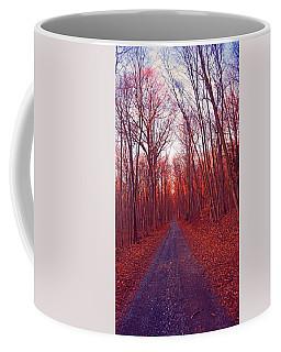Pa Section Road Crossing Coffee Mug by Raymond Salani III