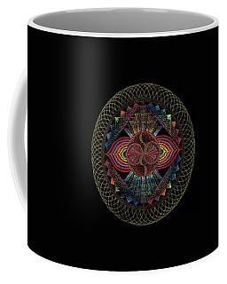 Coffee Mug featuring the painting Pachamama by Keiko Katsuta