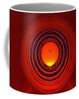 Pacific Beach Pier Sunset - Abstract Coffee Mug