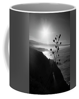 Pacific Coast B/w Coffee Mug