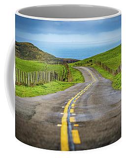 Pacific Coast Road To Tomales Bay Coffee Mug